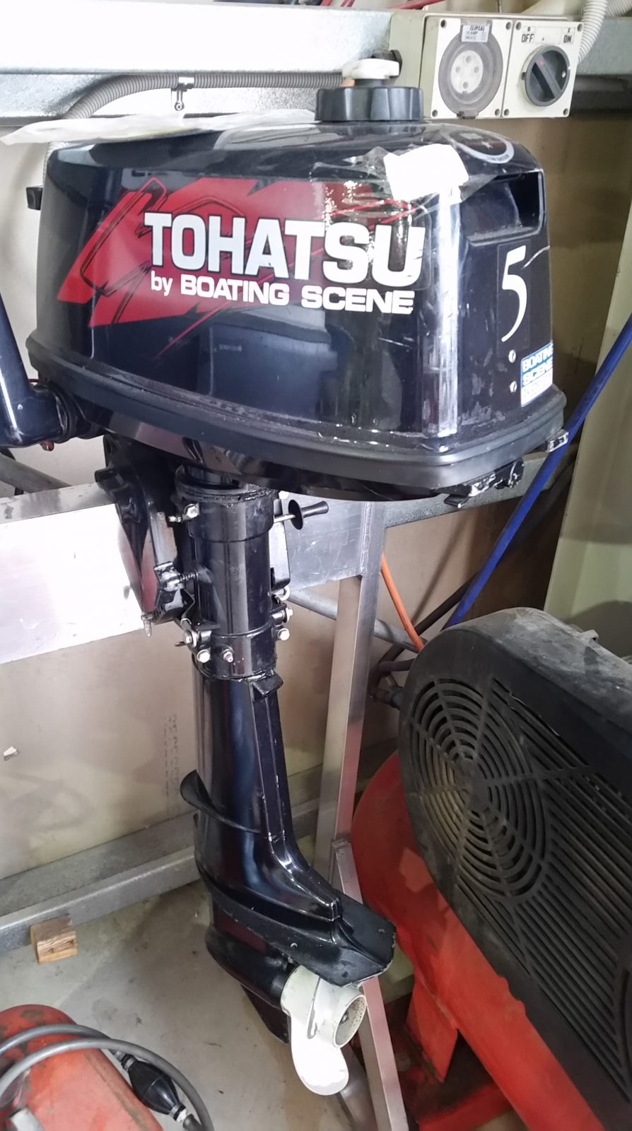 Hp Tohatsu on 15 Hp Mercury Outboard Propellers