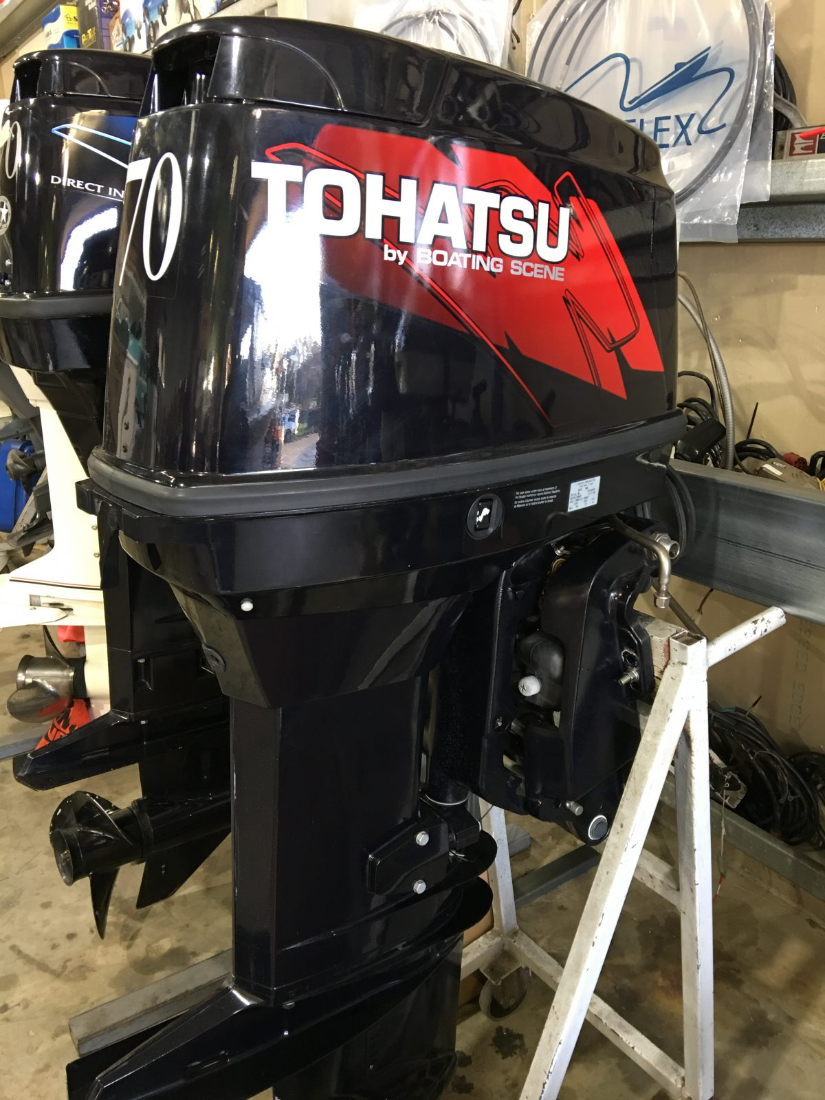 Tohatsu 70hp - Sold - Boating Scene